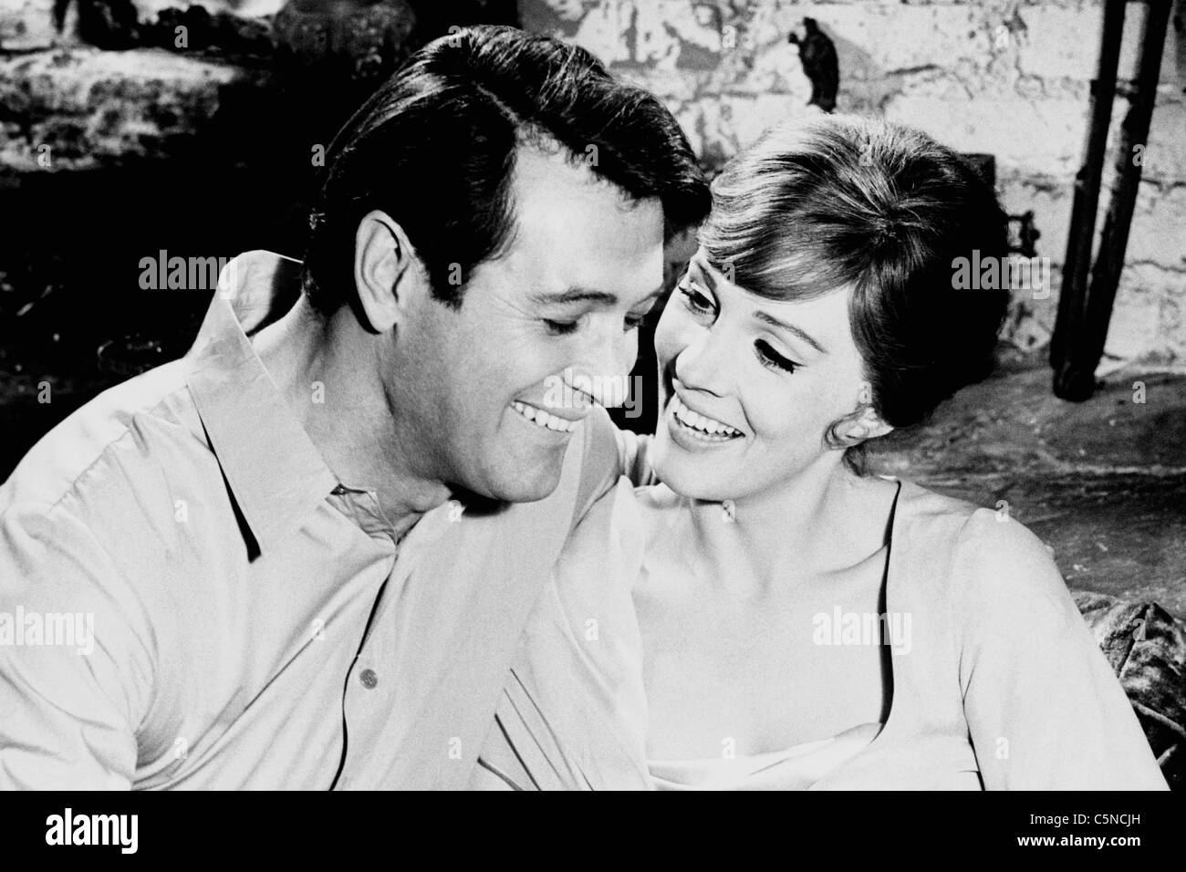 darling lili, julie andrews, rock hudson - Stock Image