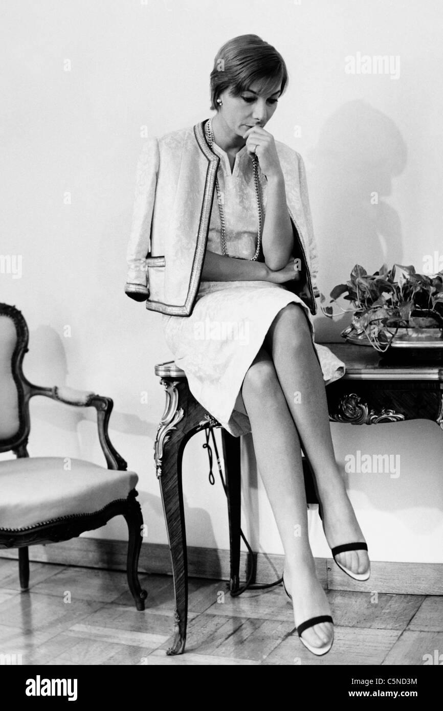 rossella falk, 1969 - Stock Image