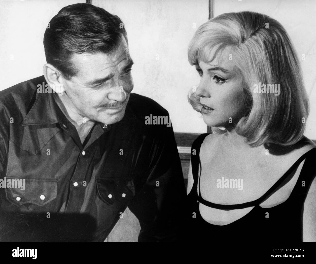 the misfits, clarke gable, marilyn monroe, 1961' - Stock Image