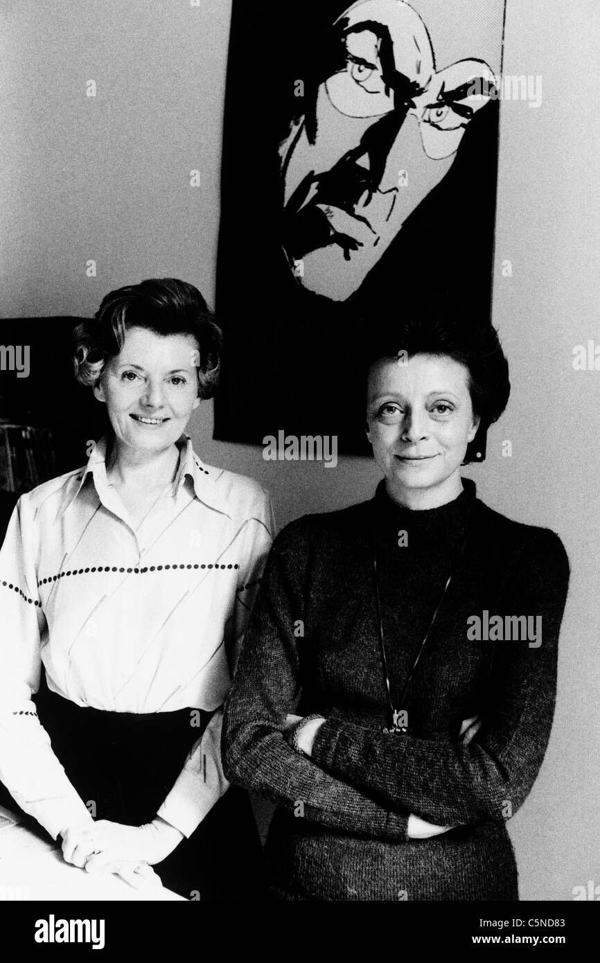 angela and luciana giussani, 1978 - Stock Image