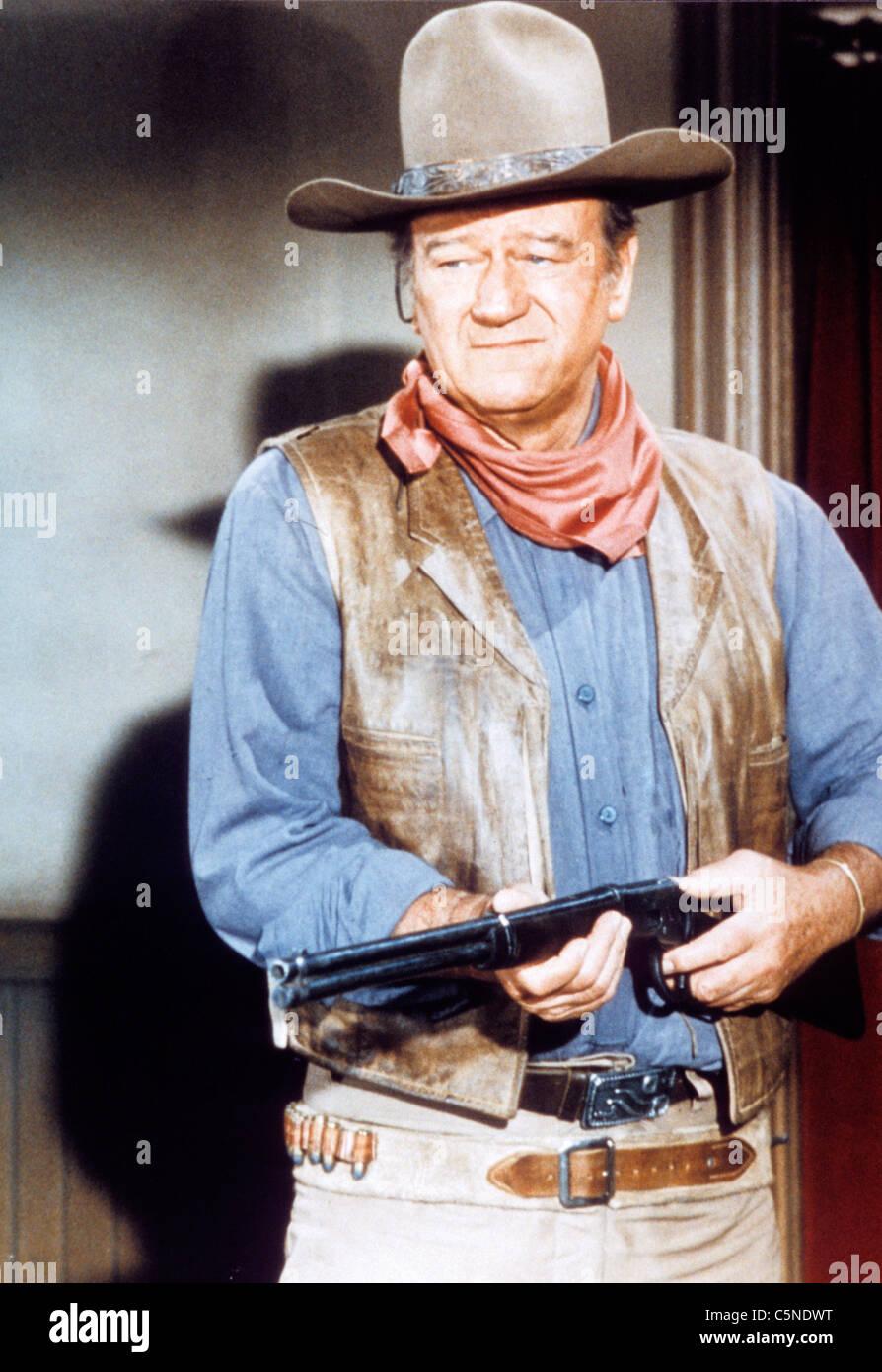 John Wayne, film war wagon 1967 - Stock Image