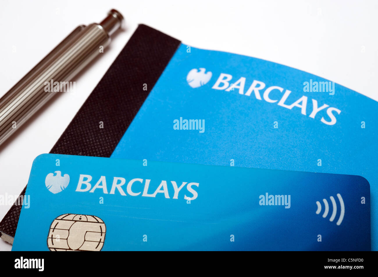 Barclays debit card and cheque book Stock Photo: 37967132 - Alamy