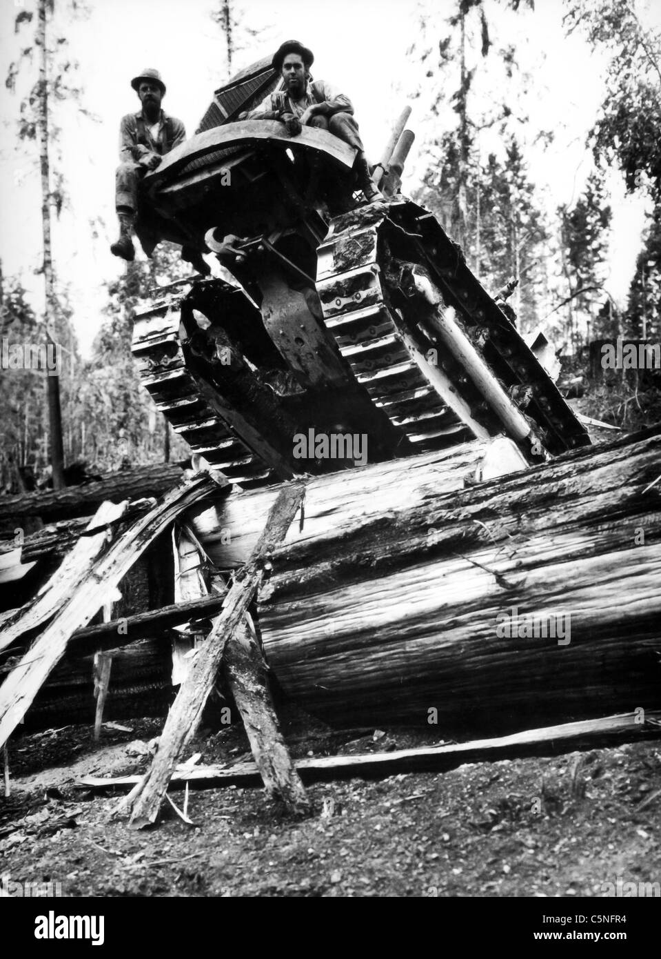 American tank, about 1930 - Stock Image