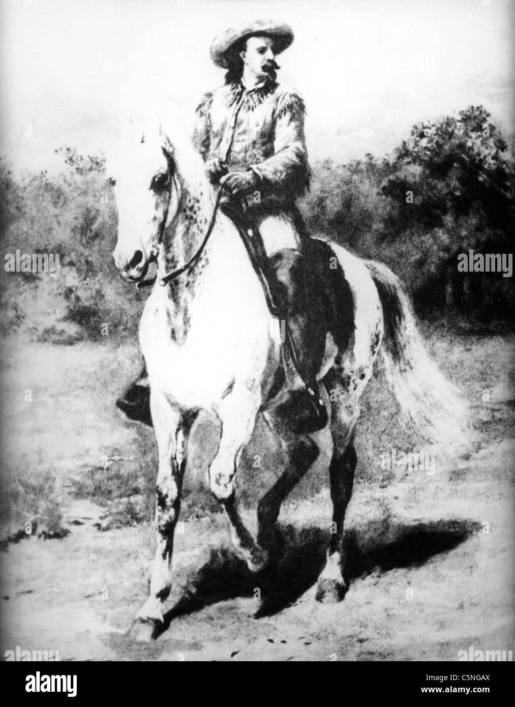 Buffalo Bill, 1900 - Stock Image