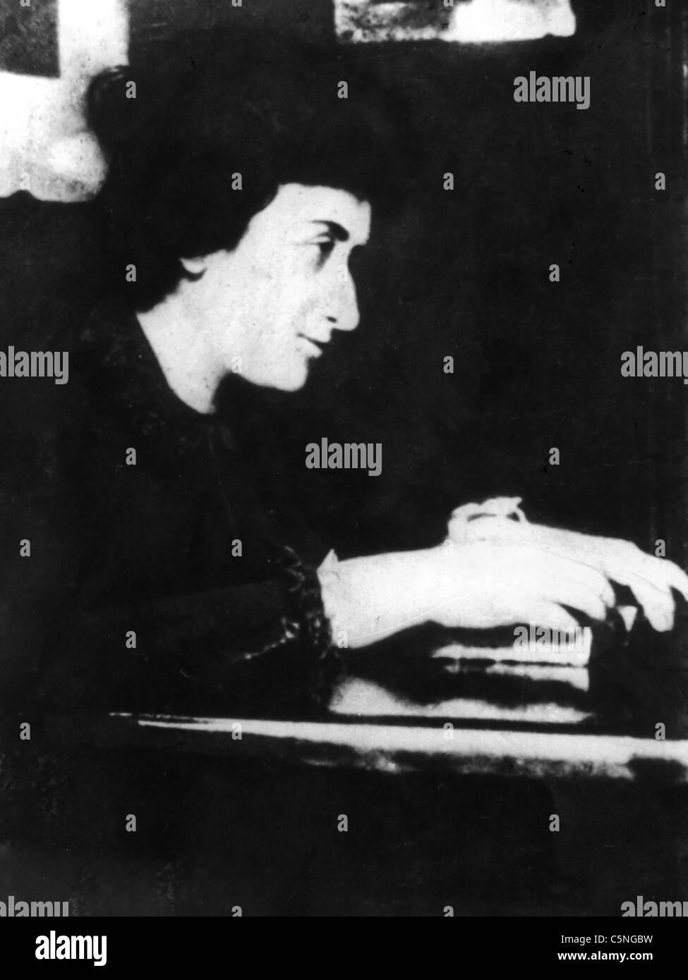 Rosa Luxemburg, 1919 - Stock Image