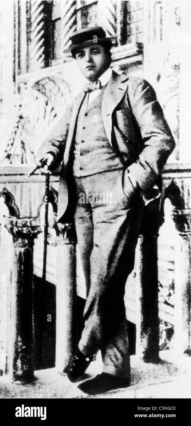 Pietro Mascagni, 1900 - Stock Image