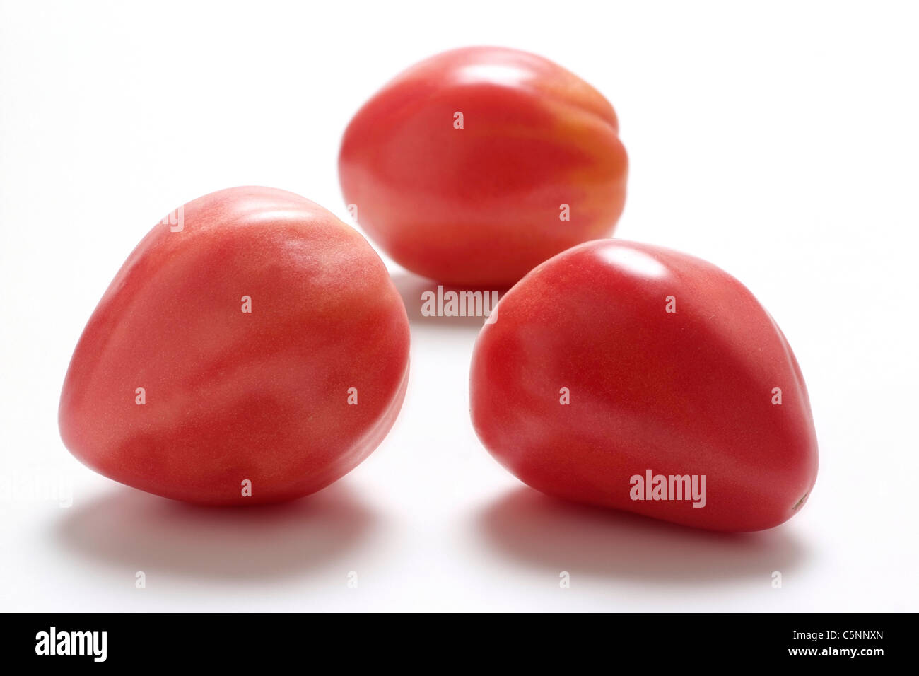 Tomato varieties: Herztomate - Stock Image