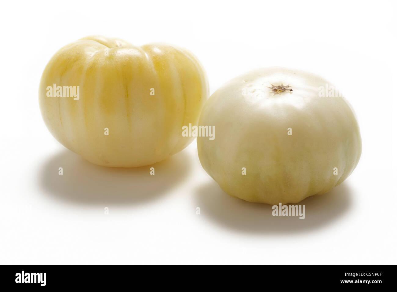 Tomato varieties:  Milchperle - Stock Image