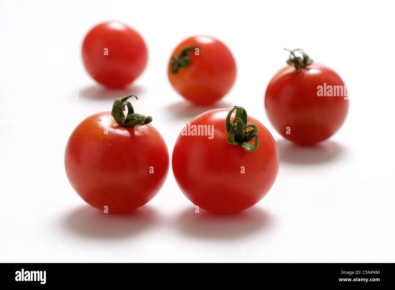 Tomato varieties: Supersweet - Stock Image