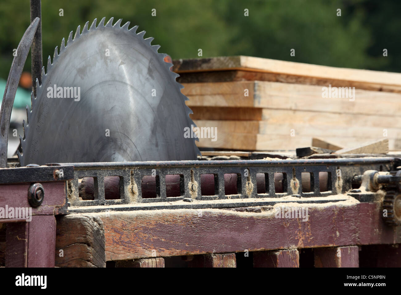 Magnificent Saw Bench Stock Photos Saw Bench Stock Images Alamy Ocoug Best Dining Table And Chair Ideas Images Ocougorg