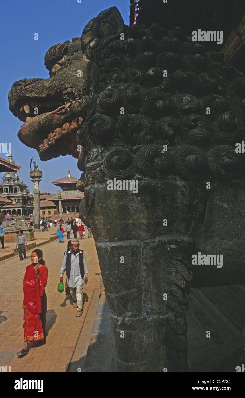 patan city kathmandhu nepal - Stock Image