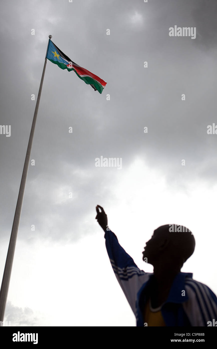 South Sudan Independence - Stock Image