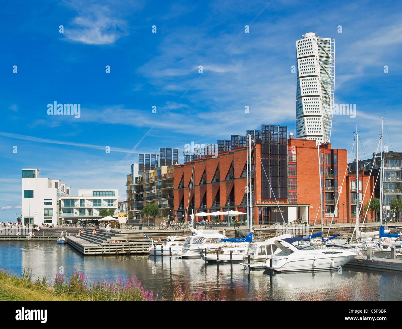 Turning Torso Malmö Sweden Europe - Stock Image
