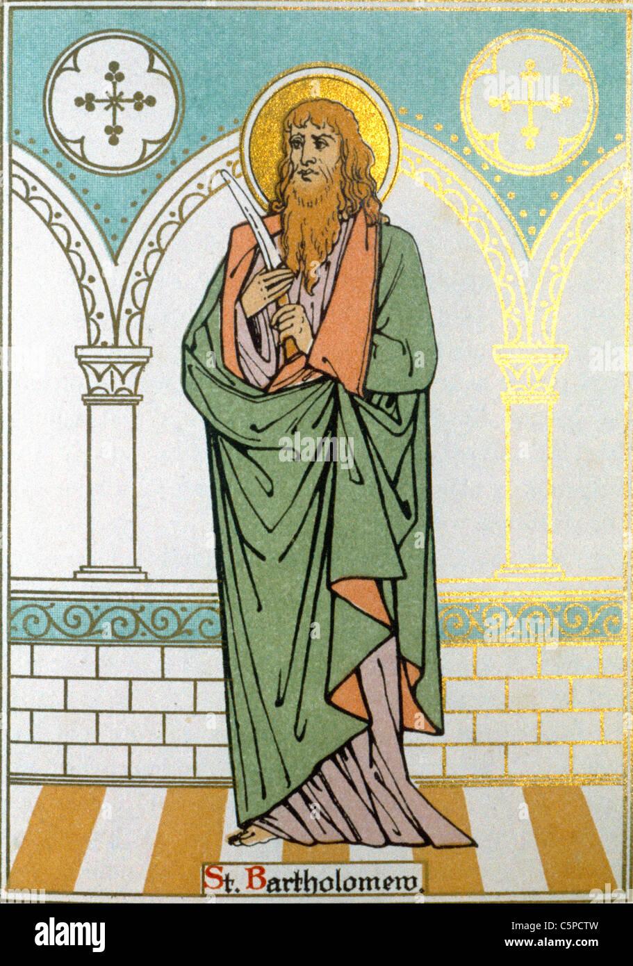 Saint Bartholomew - Stock Image
