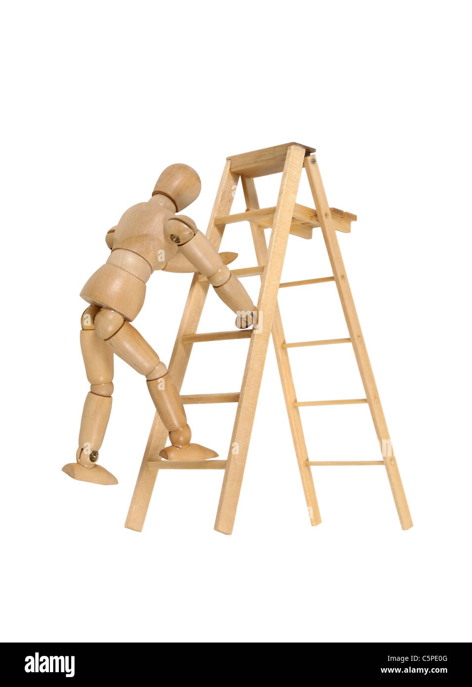 moving up the ladder