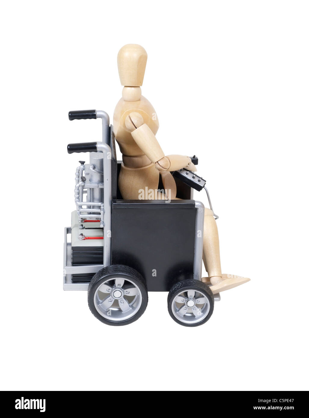 Electrical wheelchair - Stock Image