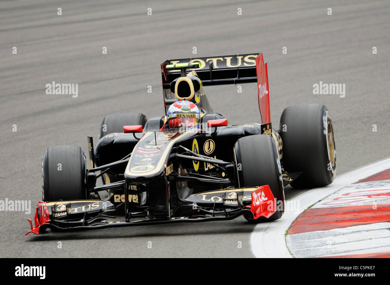 Witali Petrow (RUS), Renault during the German Formula One Grand Prix at Nuerburgring - Stock Image