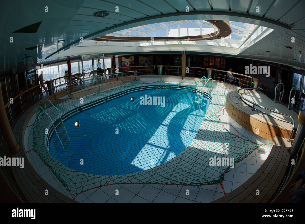 Swimming Pool Area On The Brittany Ferries Mv Pont Aven