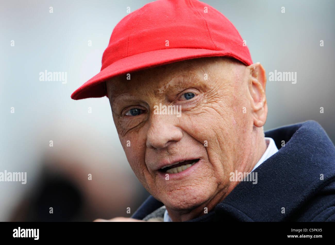 Niki Lauda - Stock Image