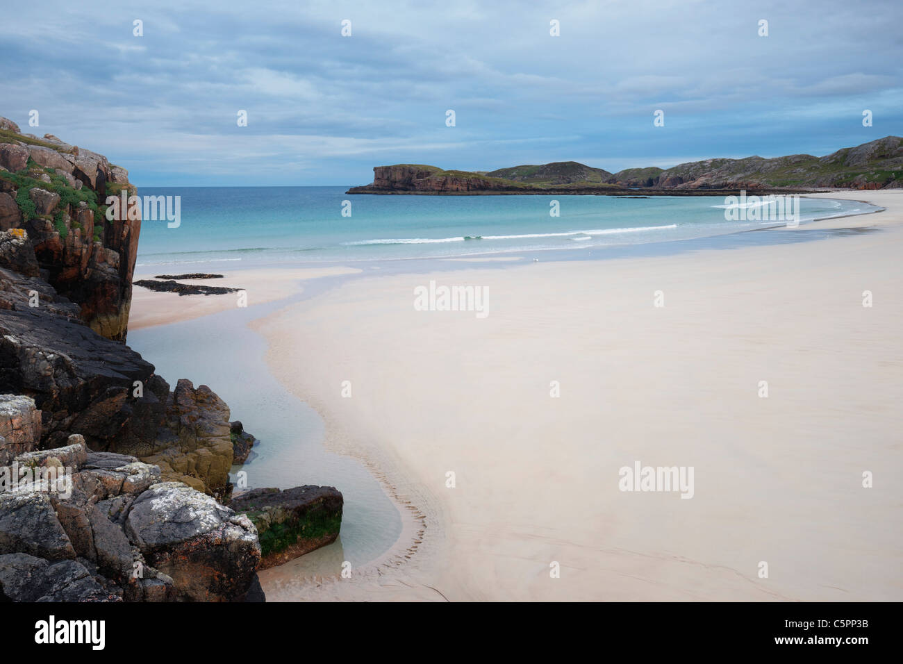 Oldshoremore beach, Sutherland, Highland, Scotland, UK Stock Photo