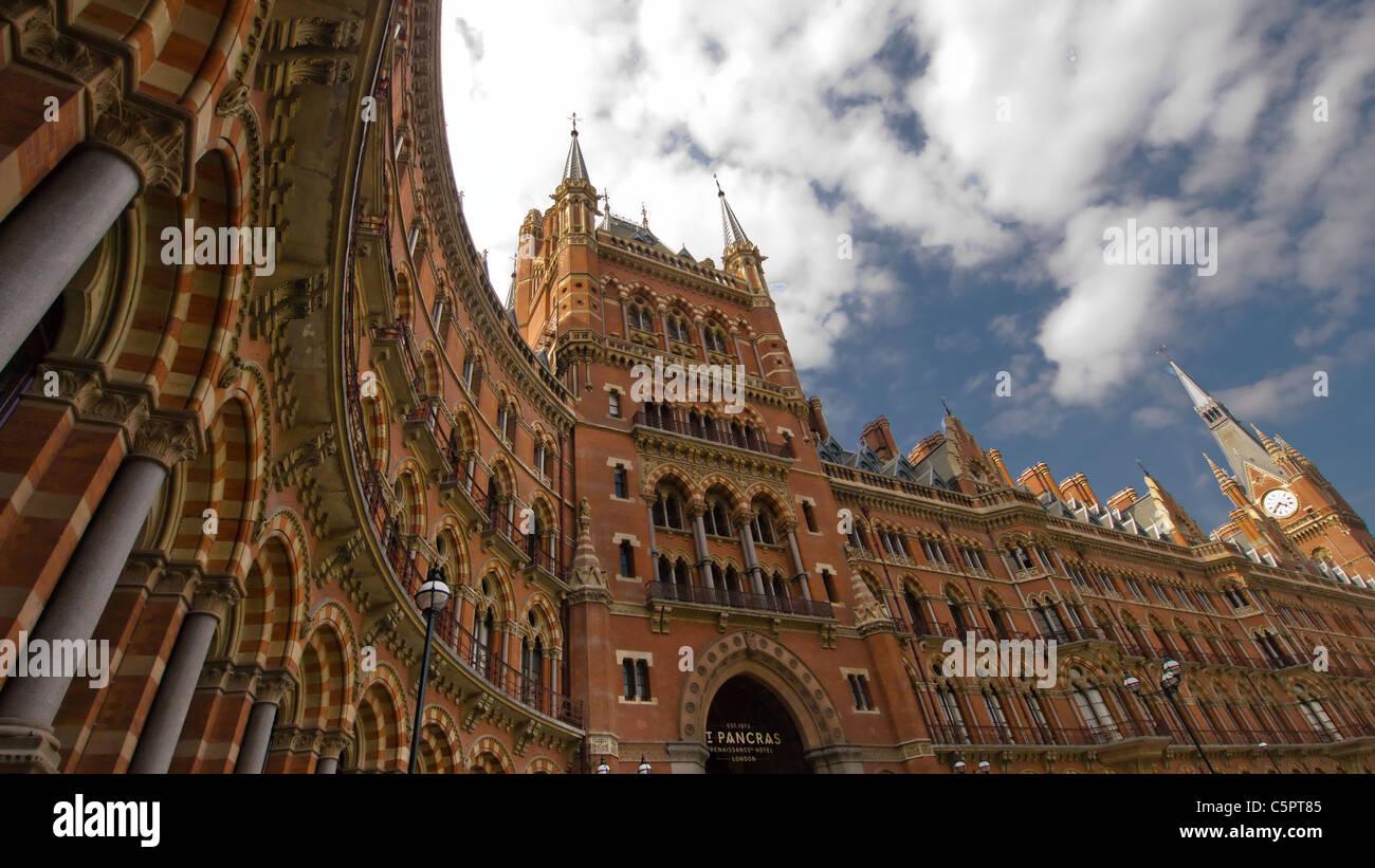 St Pancras Station, London, England Stock Photo