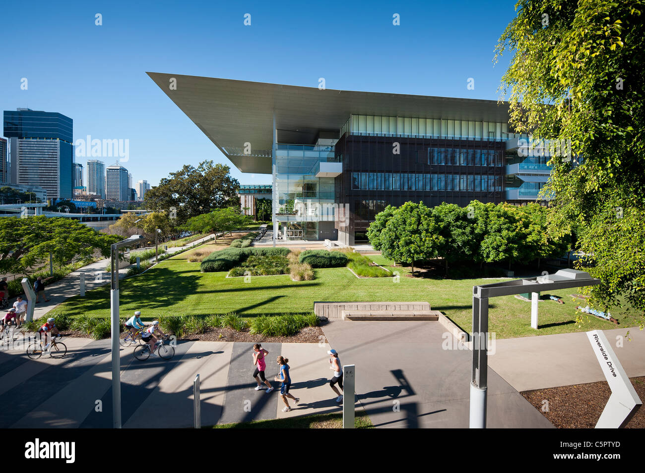 GOMA - Gallery of Modern Art Brisbane - Stock Image