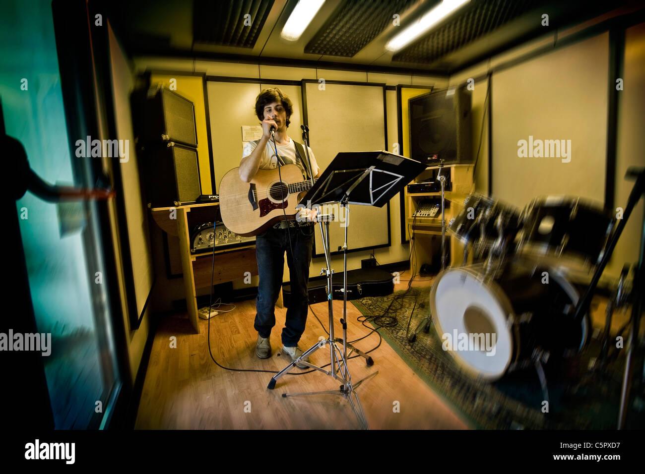 Music Practice Room Stock Photo 37997715 Alamy