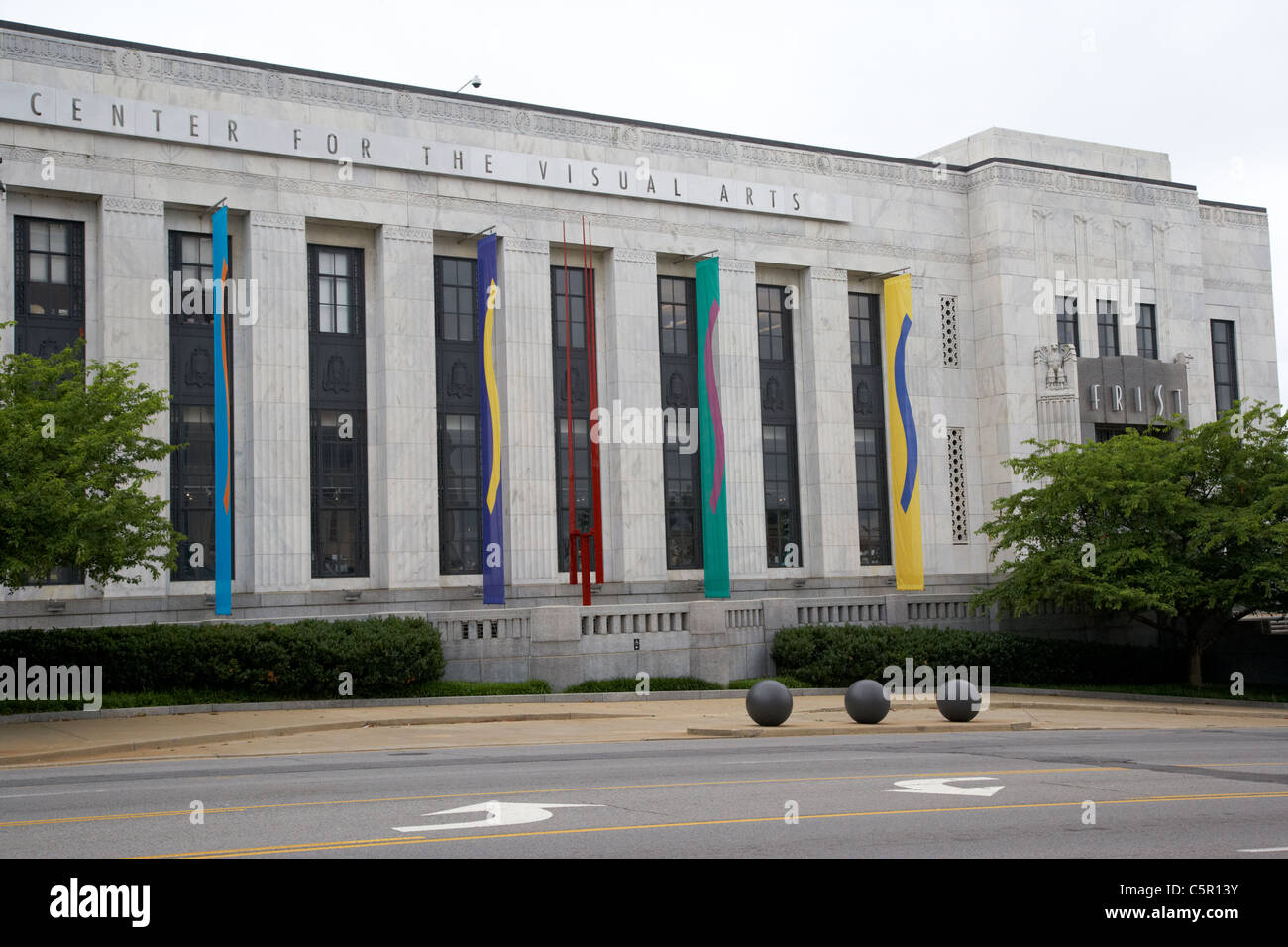 FRIST center for the visual arts building Nashville Tennessee USA - Stock Image