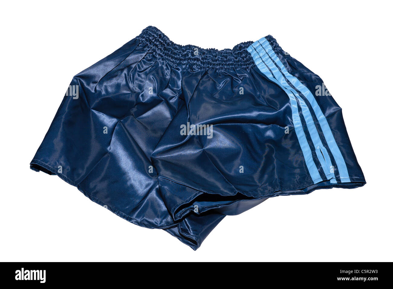Corbata césped Correspondiente  A pair of Adidas vintage nylon football sportswear shorts Stock Photo -  Alamy