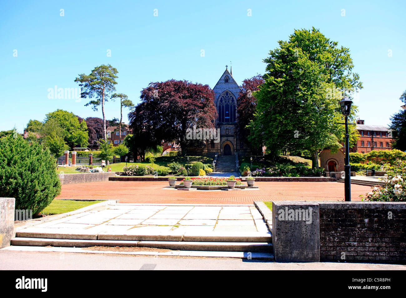 The old Chapel at Marlborough College Wiltshire - Stock Image