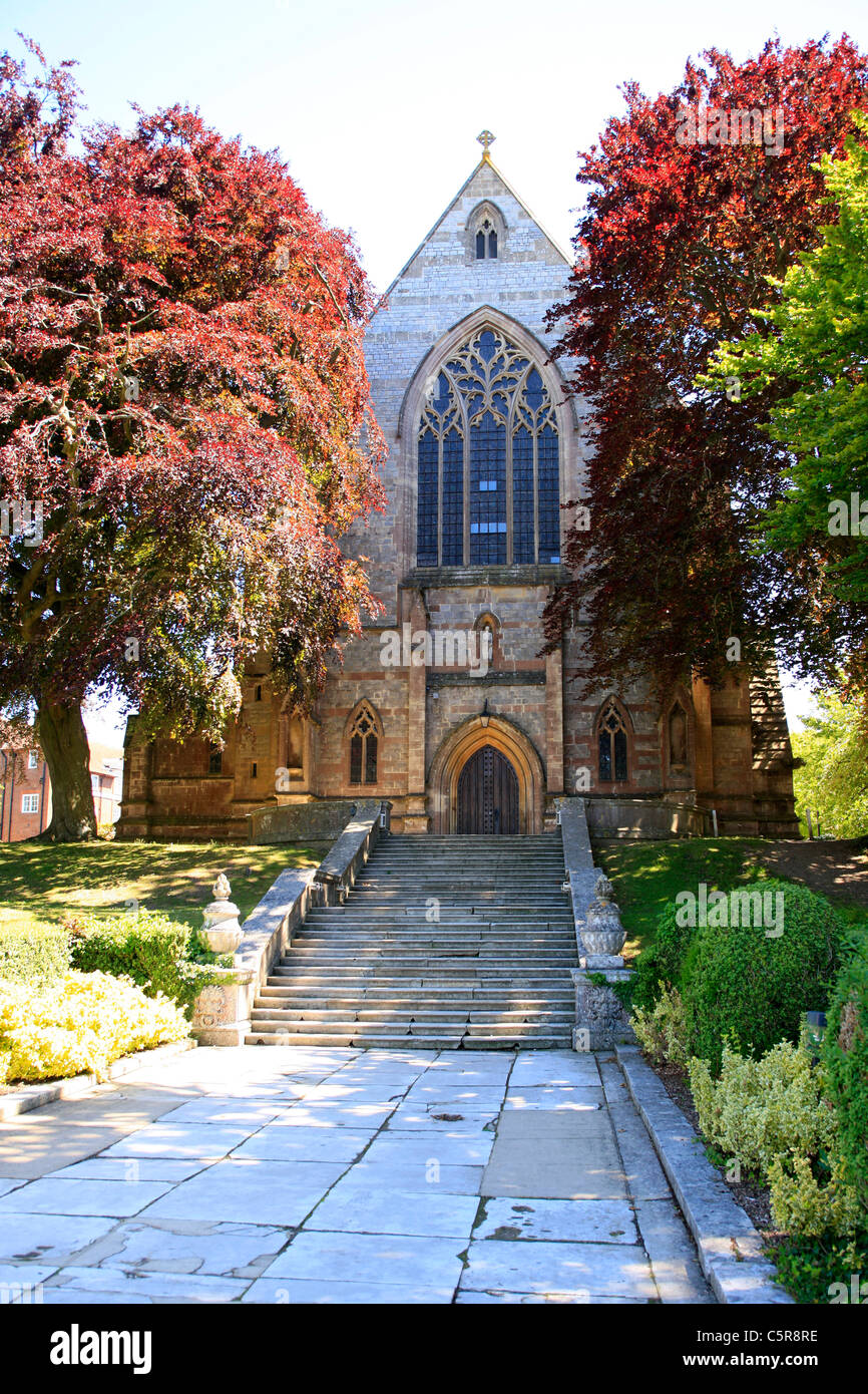 The ol Chapel at Marlborough College Wiltshire - Stock Image