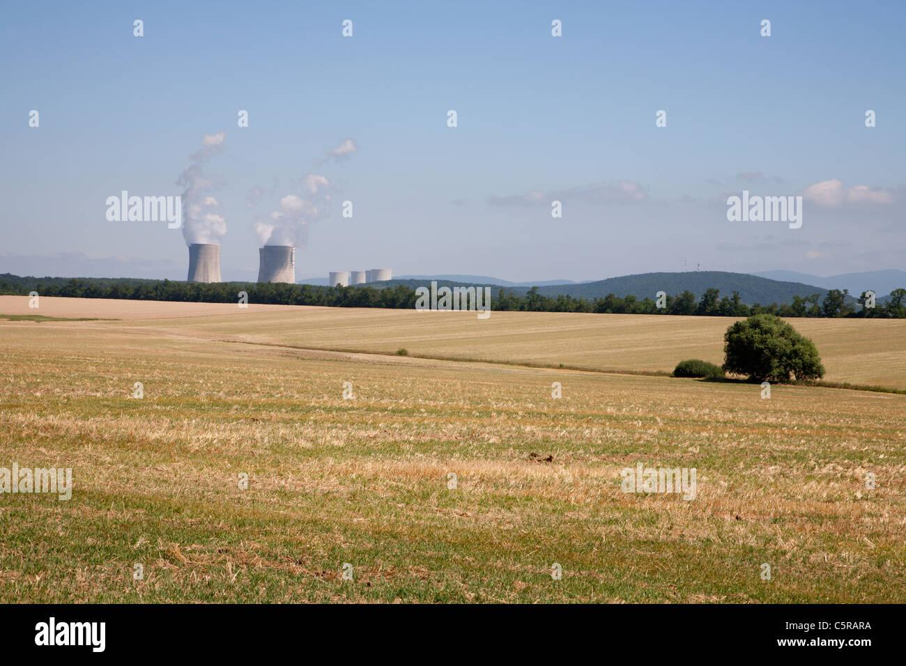 Slovak atomic power plant - Mochovce - Stock Image