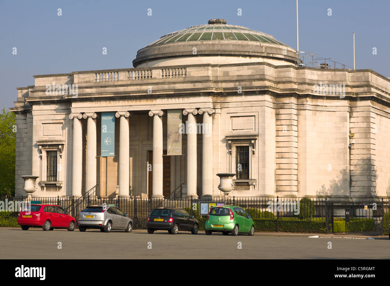 The Lady Lever Art Gallery, Port Sunlight, Wirral, England - Stock Image