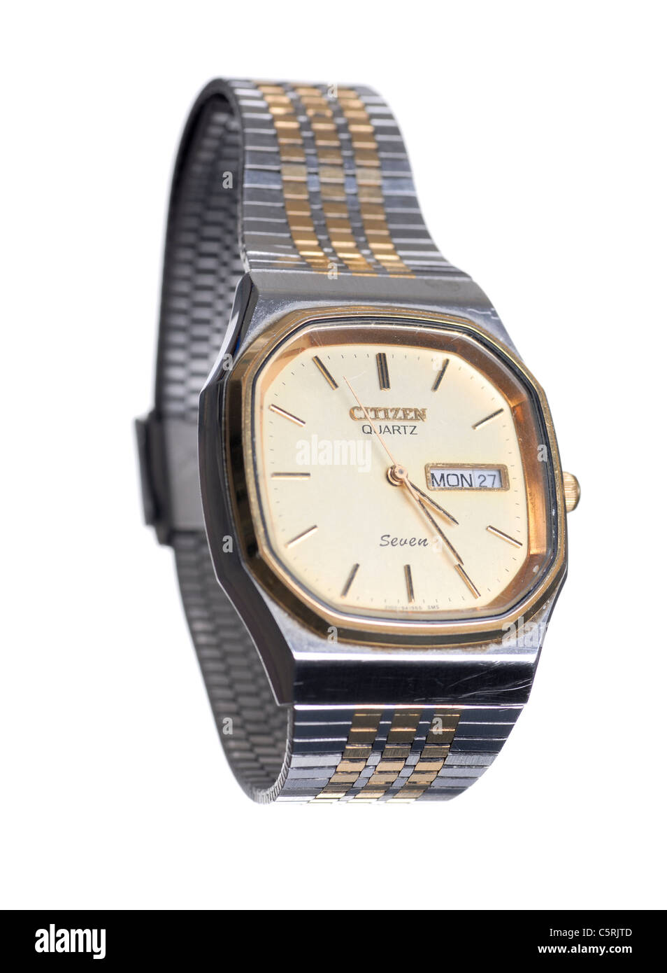 citizen watch cutout - Stock Image