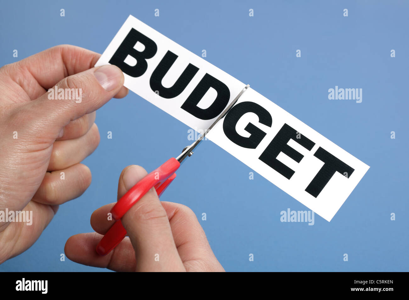 Budget cuts - Stock Image