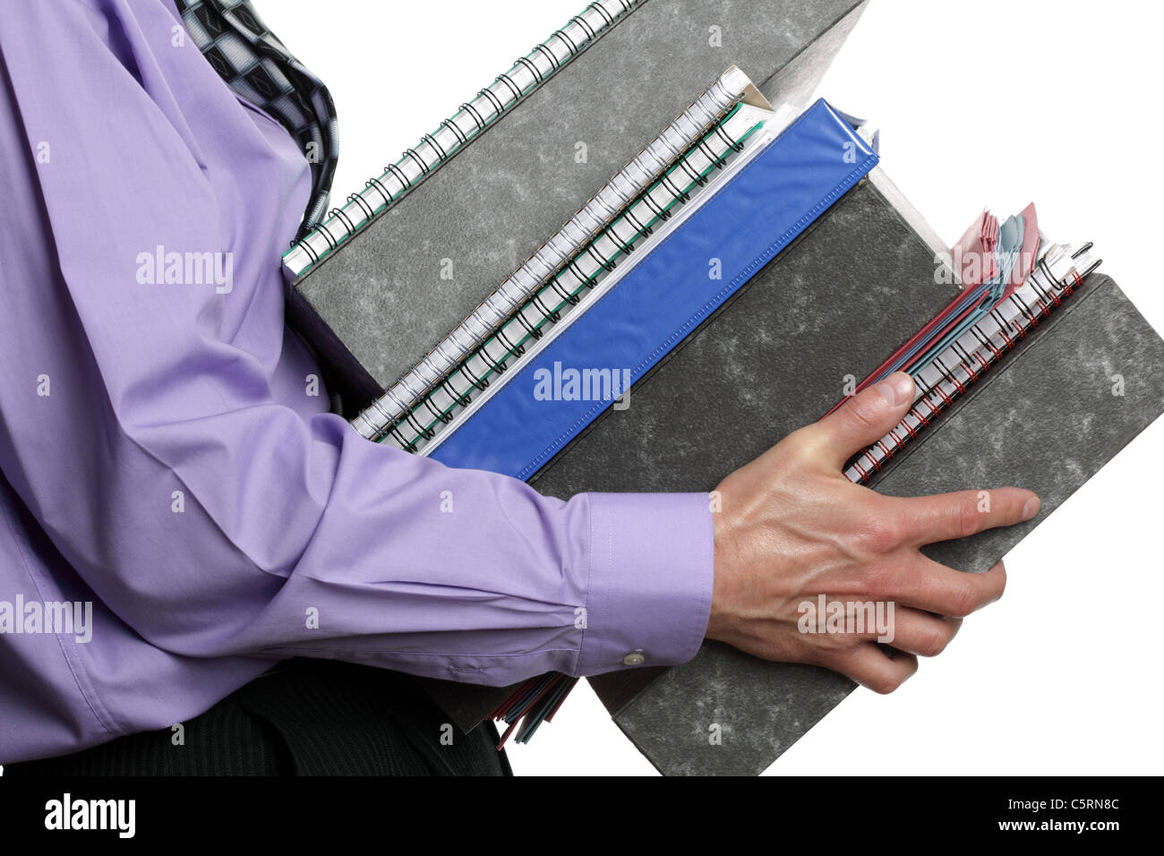 Too much work - Stock Image