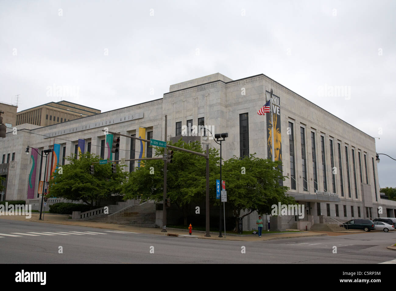 frist center for the visual arts and us post office Nashville Tennessee USA - Stock Image