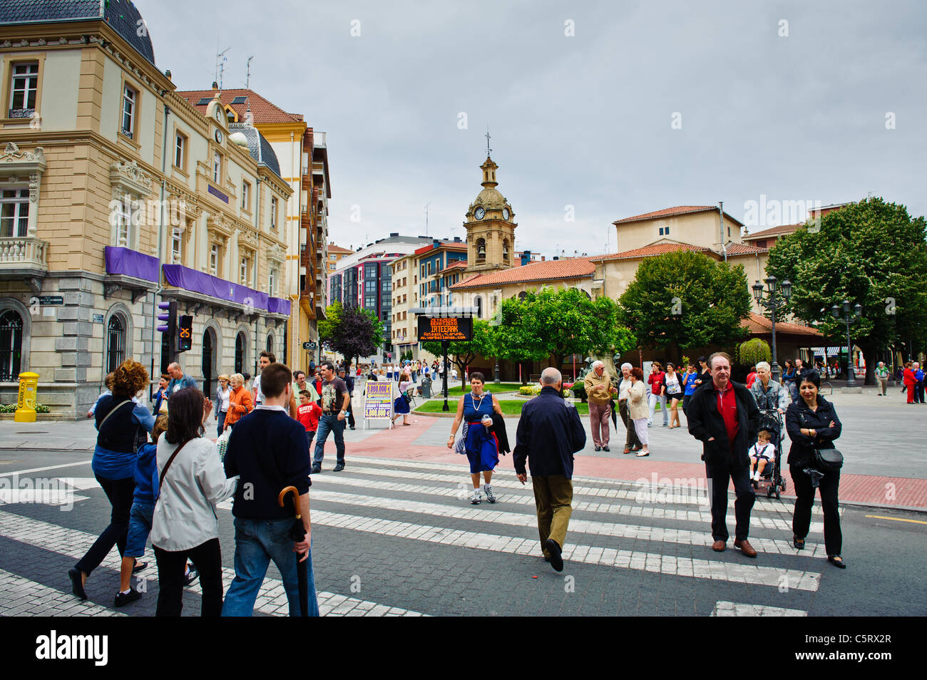 Santurtzi, Spain - Stock Image