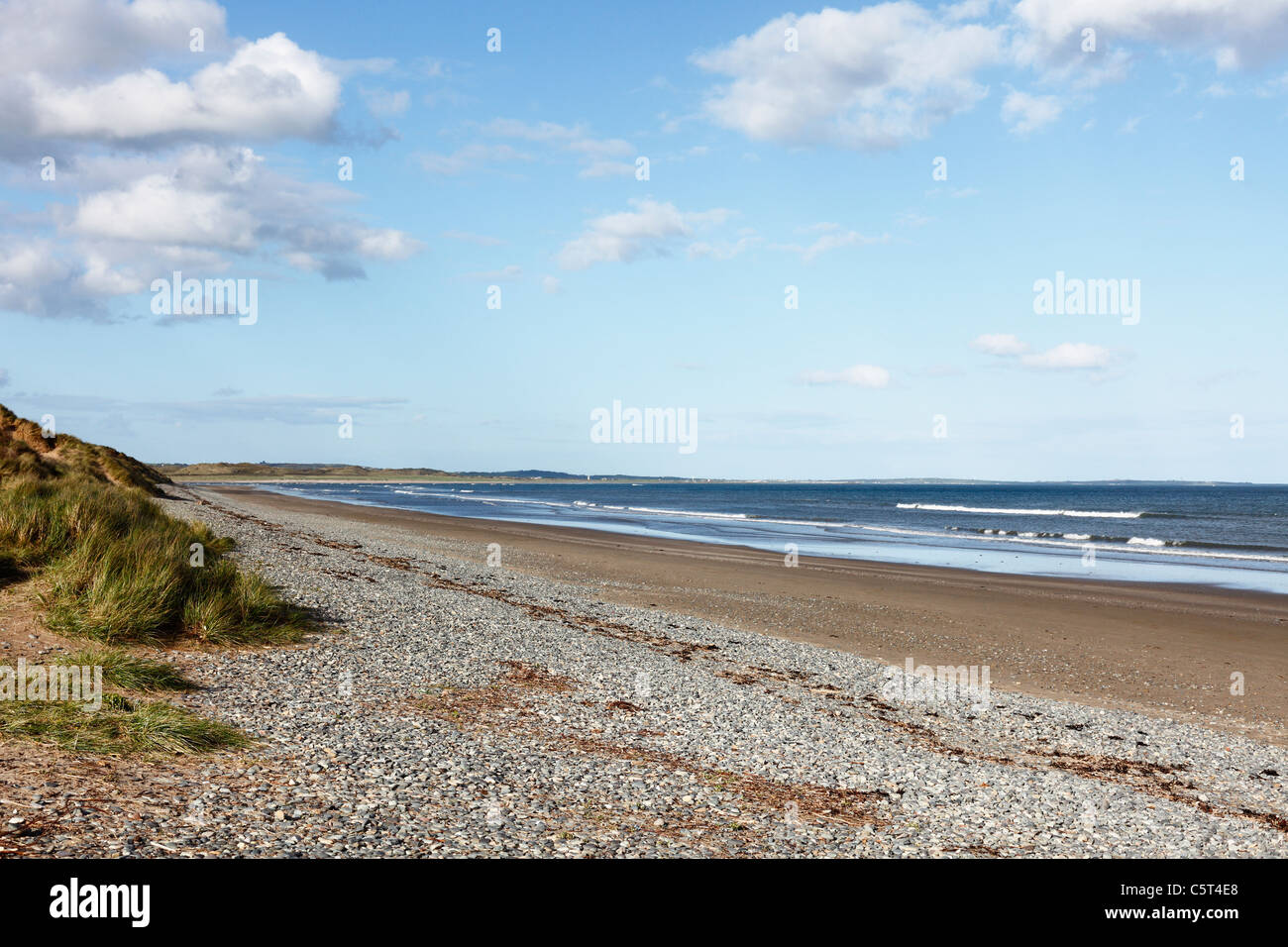 United Kingdom, Northern Ireland, County Down, Newcastle, Mourne Mountains,  Murlough National Nature Reserve, View - Stock Image