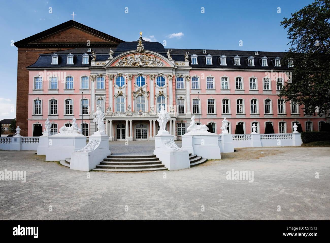 Germany, Rhineland-Palatinate, Treves, Electoral Palace Stock Photo