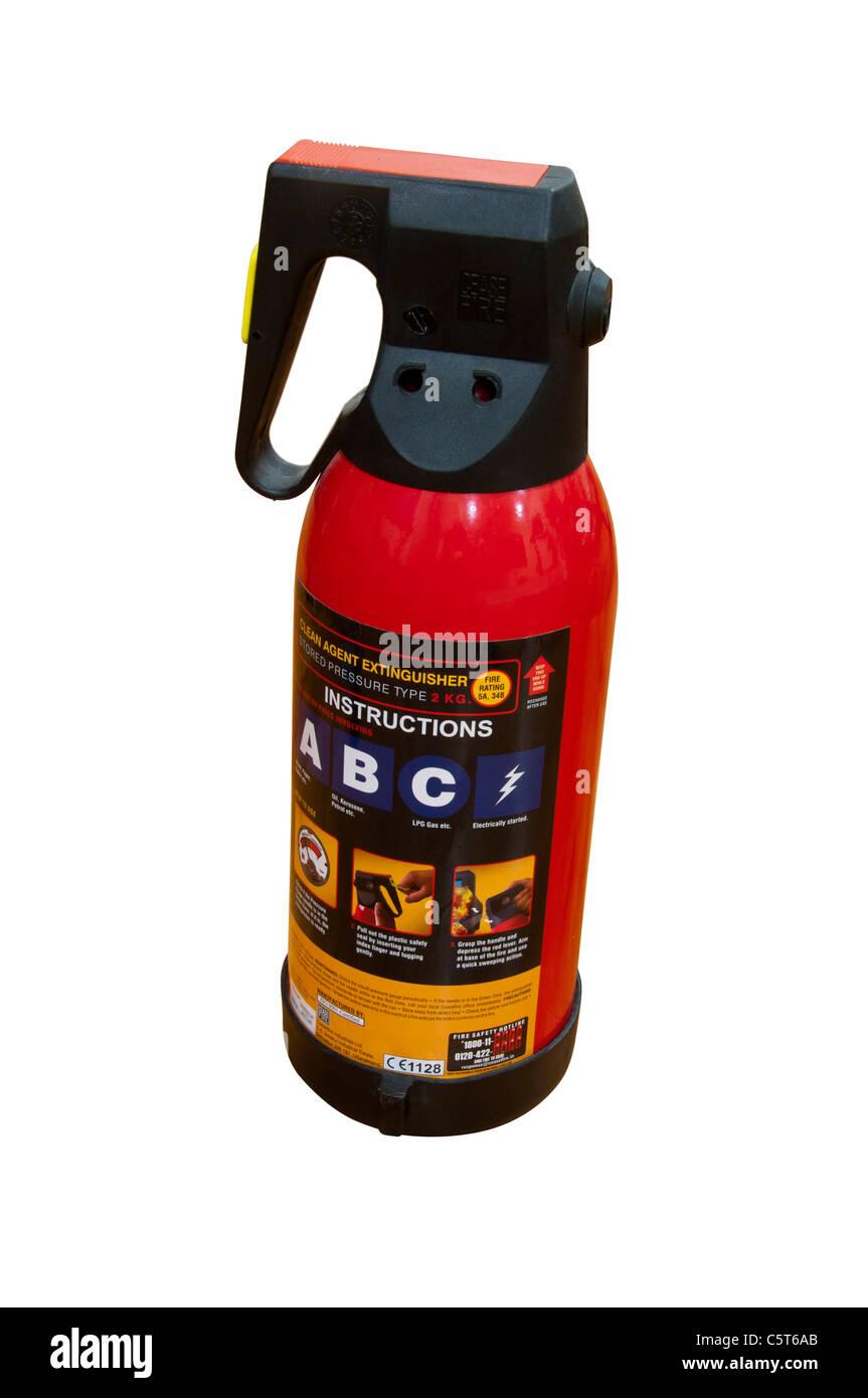 Fire Extinguisher - Stock Image