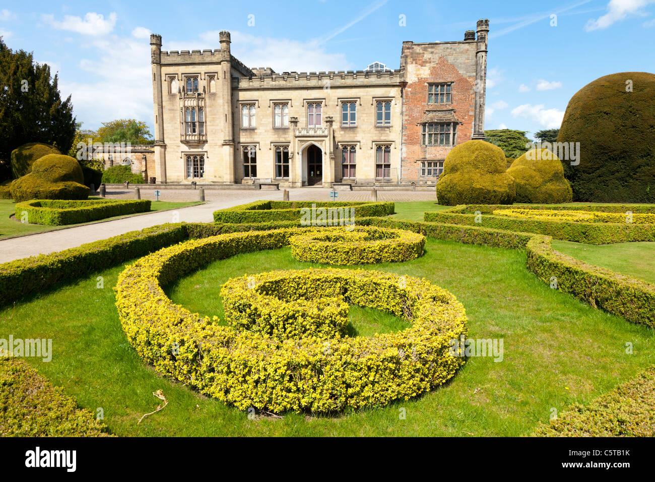 Elvaston Castle and garden Derbyshire England - Stock Image