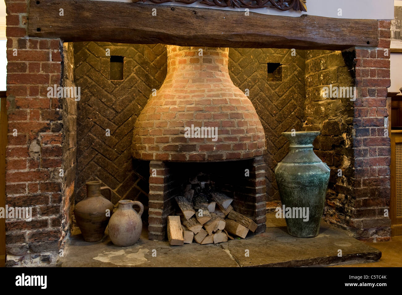 Old Brick Fireplace Stock Photos Old Brick Fireplace Stock Images