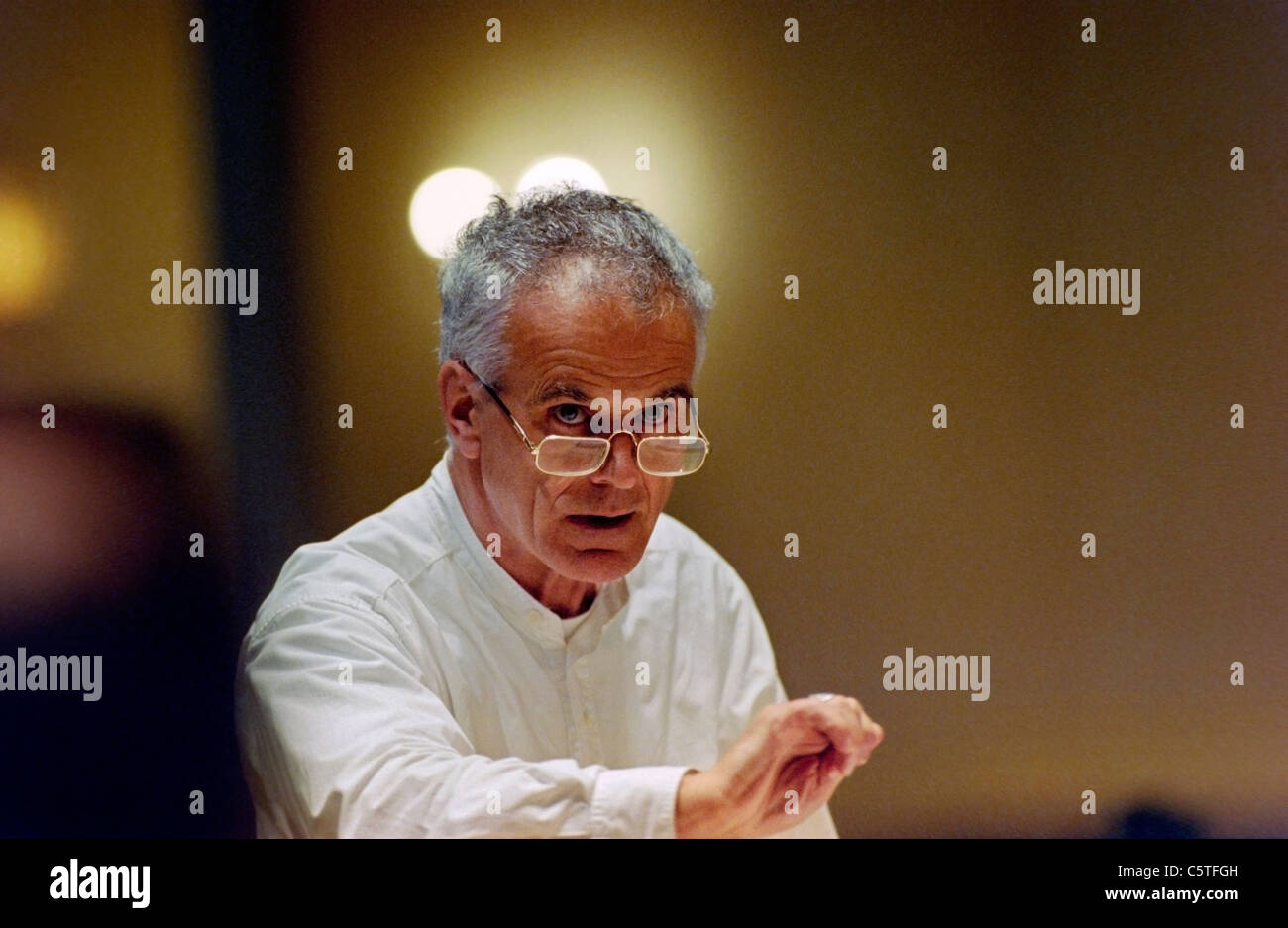 Sir Peter Maxwell Davies, British composer and Master of the Queen's Music - Stock Image
