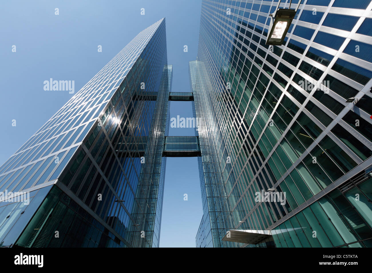 Germany, Bavaria, Munich, View of highlight towers - Stock Image