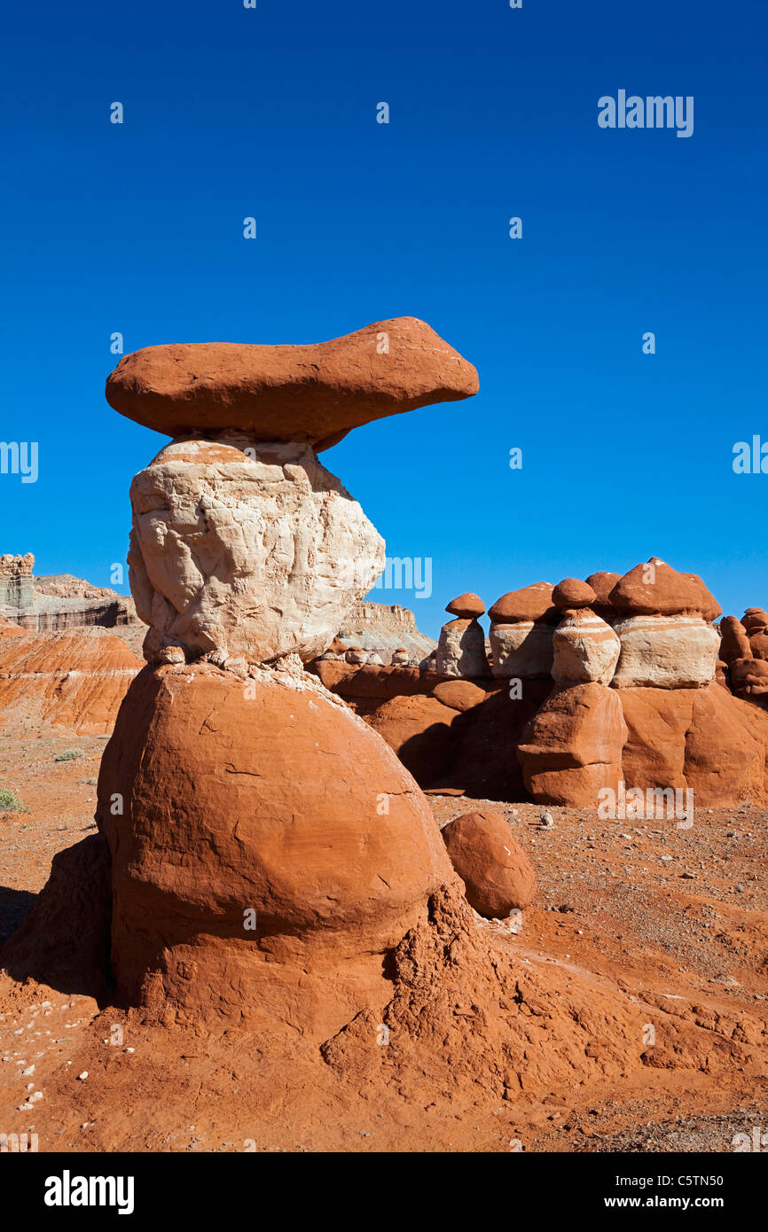 USA, Utah, Little Egypt Geologic Site - Stock Image