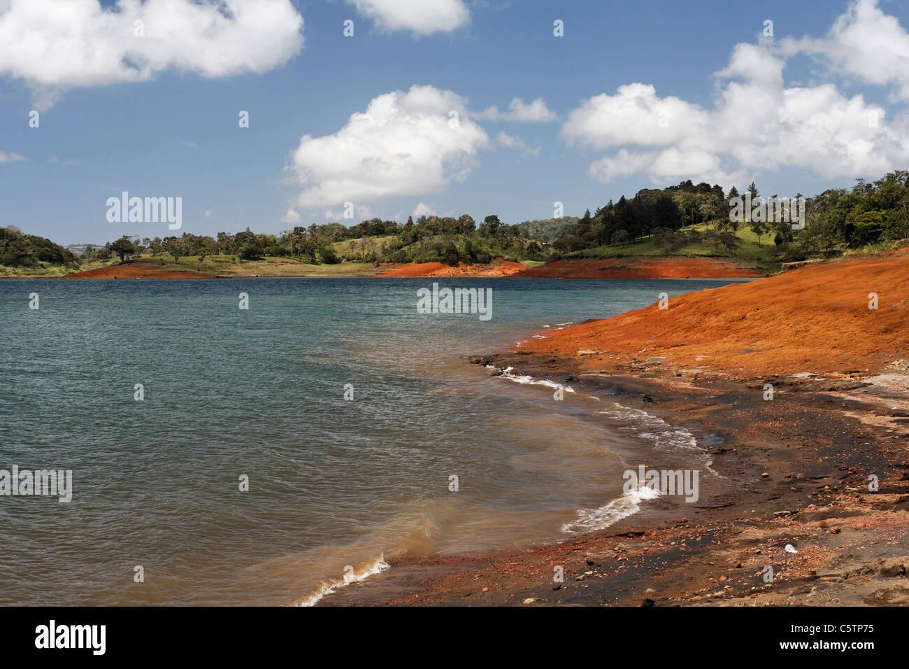 Costa Rica, Laguna de Arenal, View of lake arenal - Stock Image