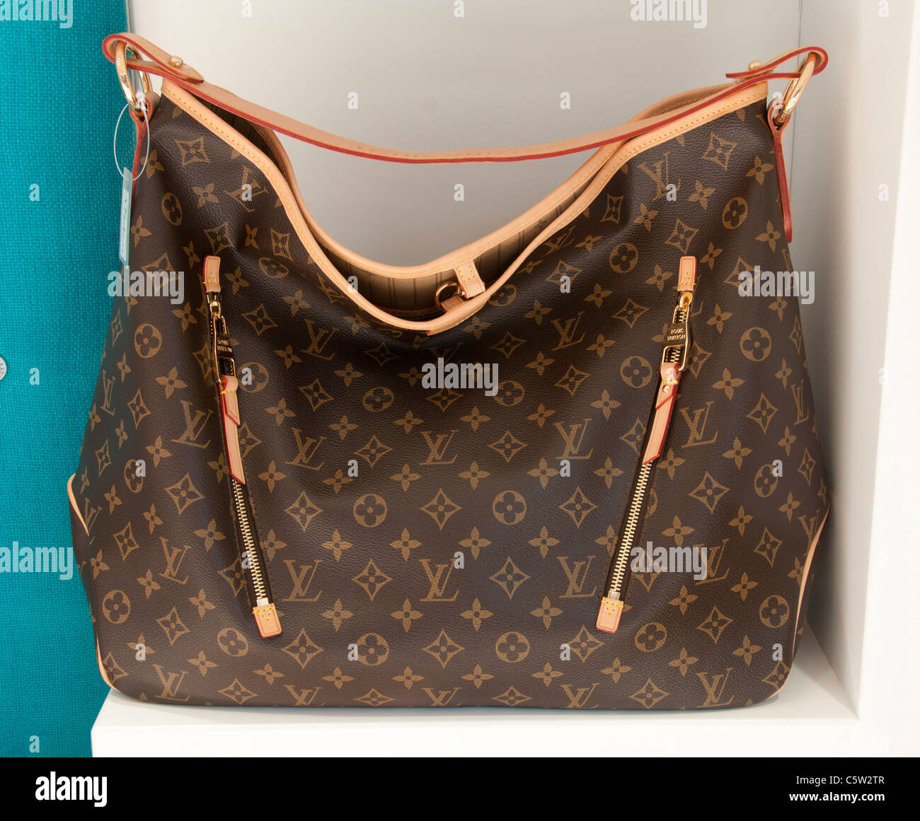 3bad4782b7c1 Louis Vuitton mock fake imitation forgery sham bag bags Turkey Turkish -  Stock Image