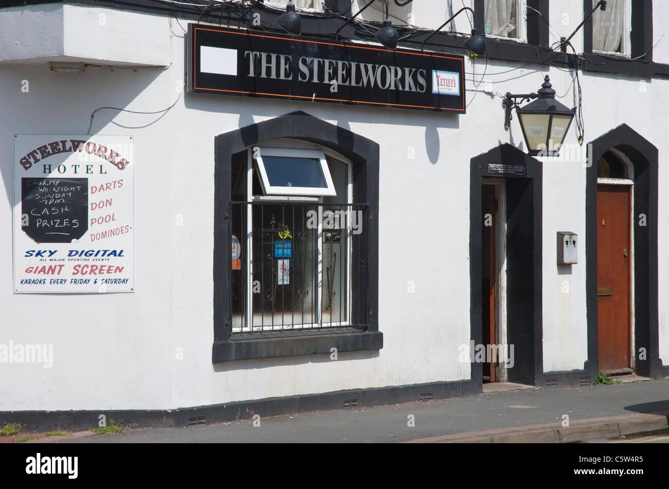 The Steelworks pub, Barrow-in-Furness, Cumbria, England UK - Stock Image