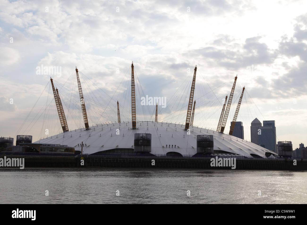 The O2 Arena Millennium Dome venue London, England, UK, GB - Stock Image